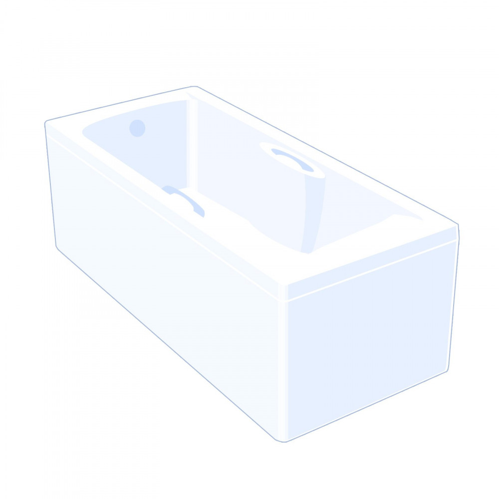 Carron Carronite Imperial Single Ended Bath 1675 x 700mm