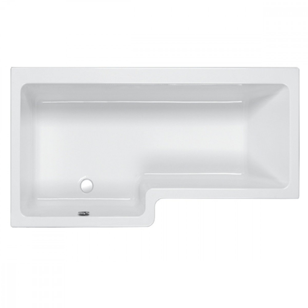 Carron Quantum 1500mm Square Left Hand Shower Bath
