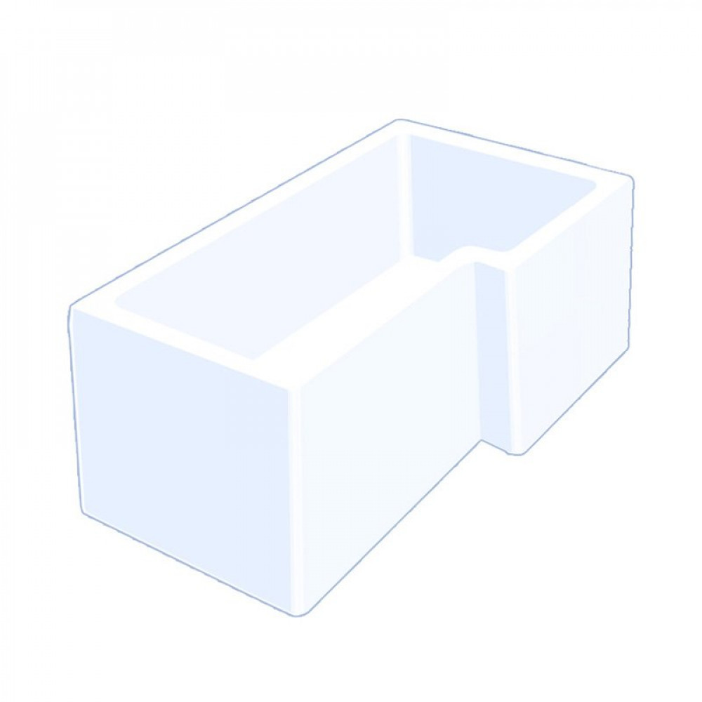 Carron Quantum 1700mm Square Right Hand Shower Bath