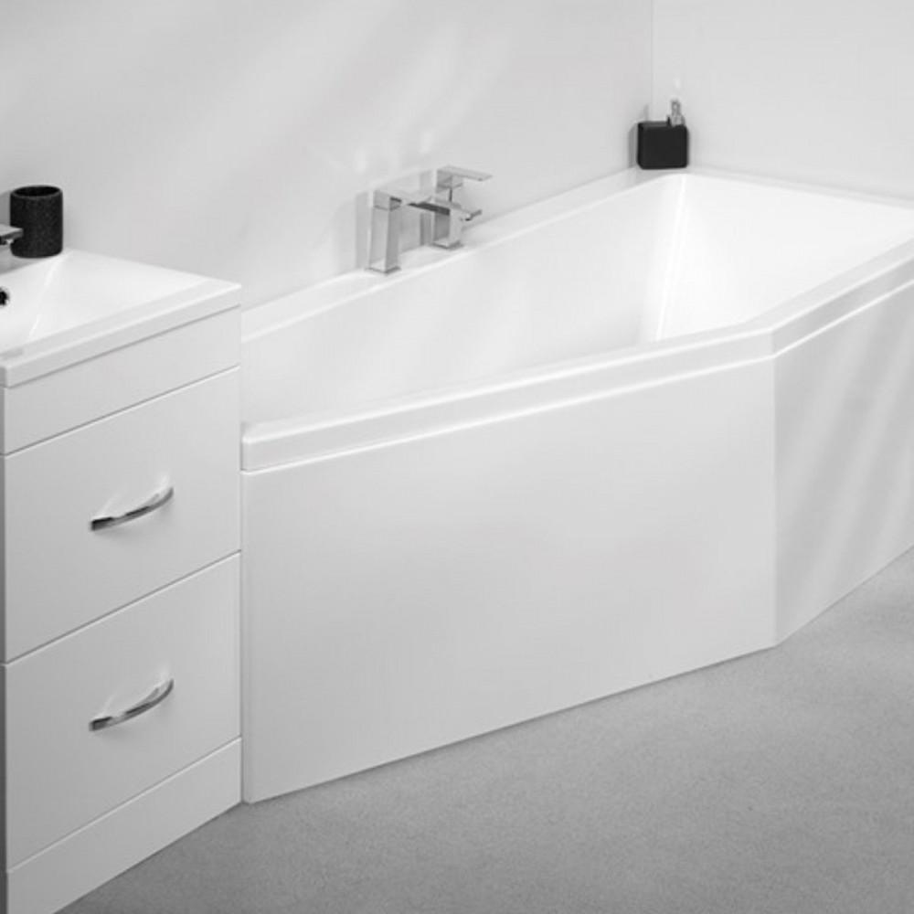 Carron Quantum Space saver 1700 x 750mm Left Hand Bath