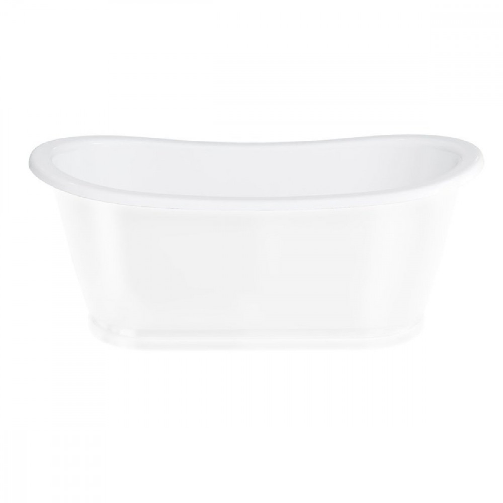 Clearwater Balthazar Double Ended Freestanding Bath in White