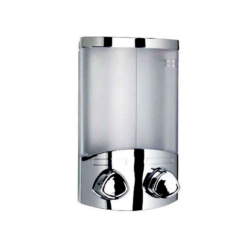 Croydex Euro Duo Chrome Soap Dispenser