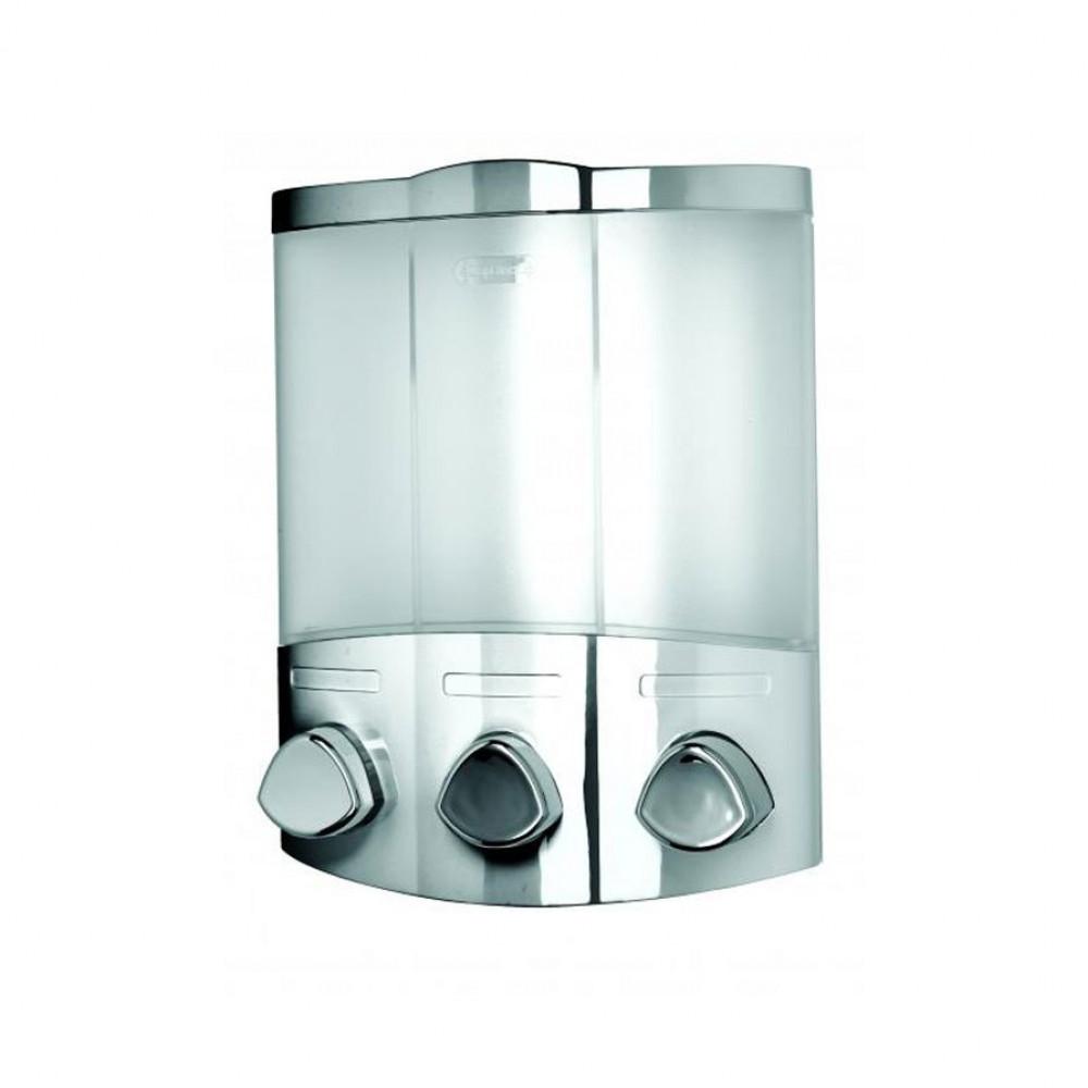 Croydex Euro Trio Chrome Soap Dispenser