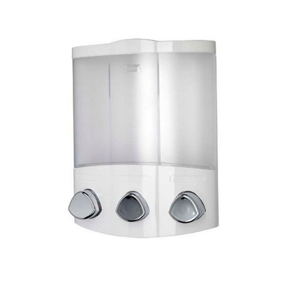 Croydex Euro Trio White Soap Dispenser | PA660722 Min
