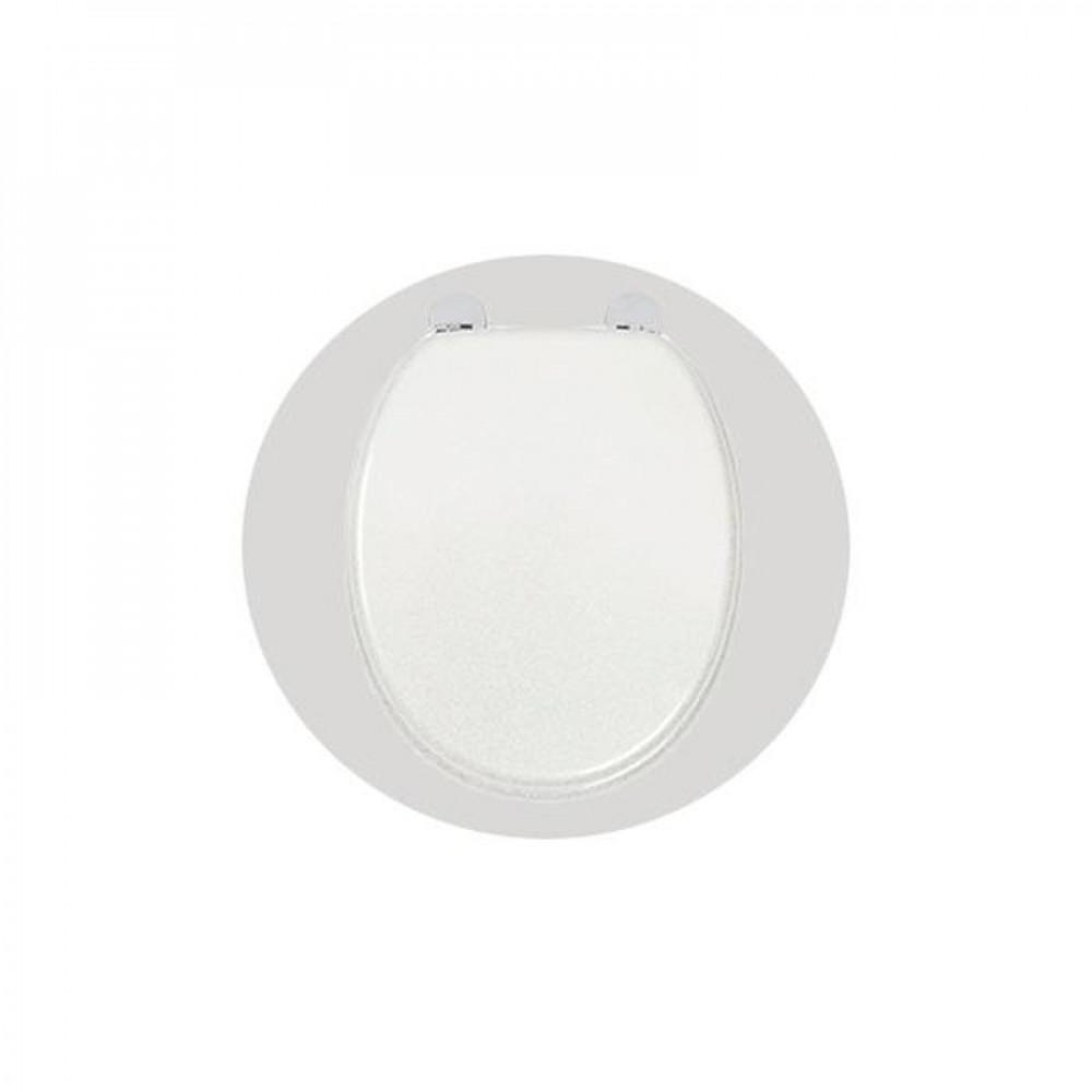 S2Y-Croydex Flexi-Fix White Quartz Toilet Seat-1
