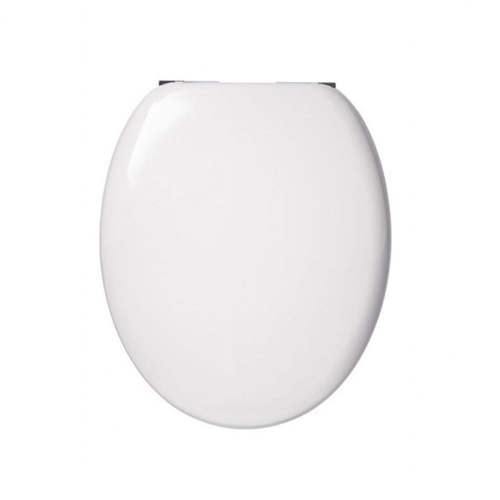 Croydex Foster white soft closing toilet seat