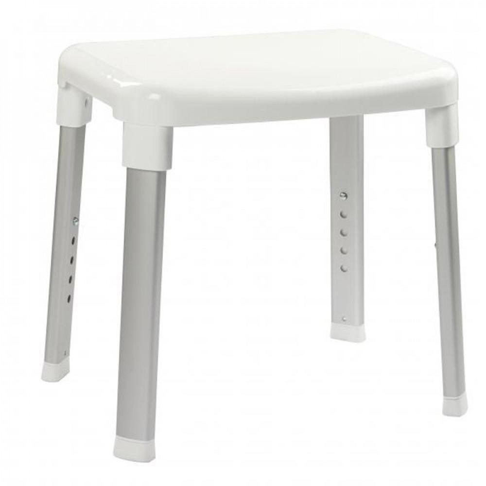 S2Y-Croydex Inclusive White Adjustable Shower Stool-1