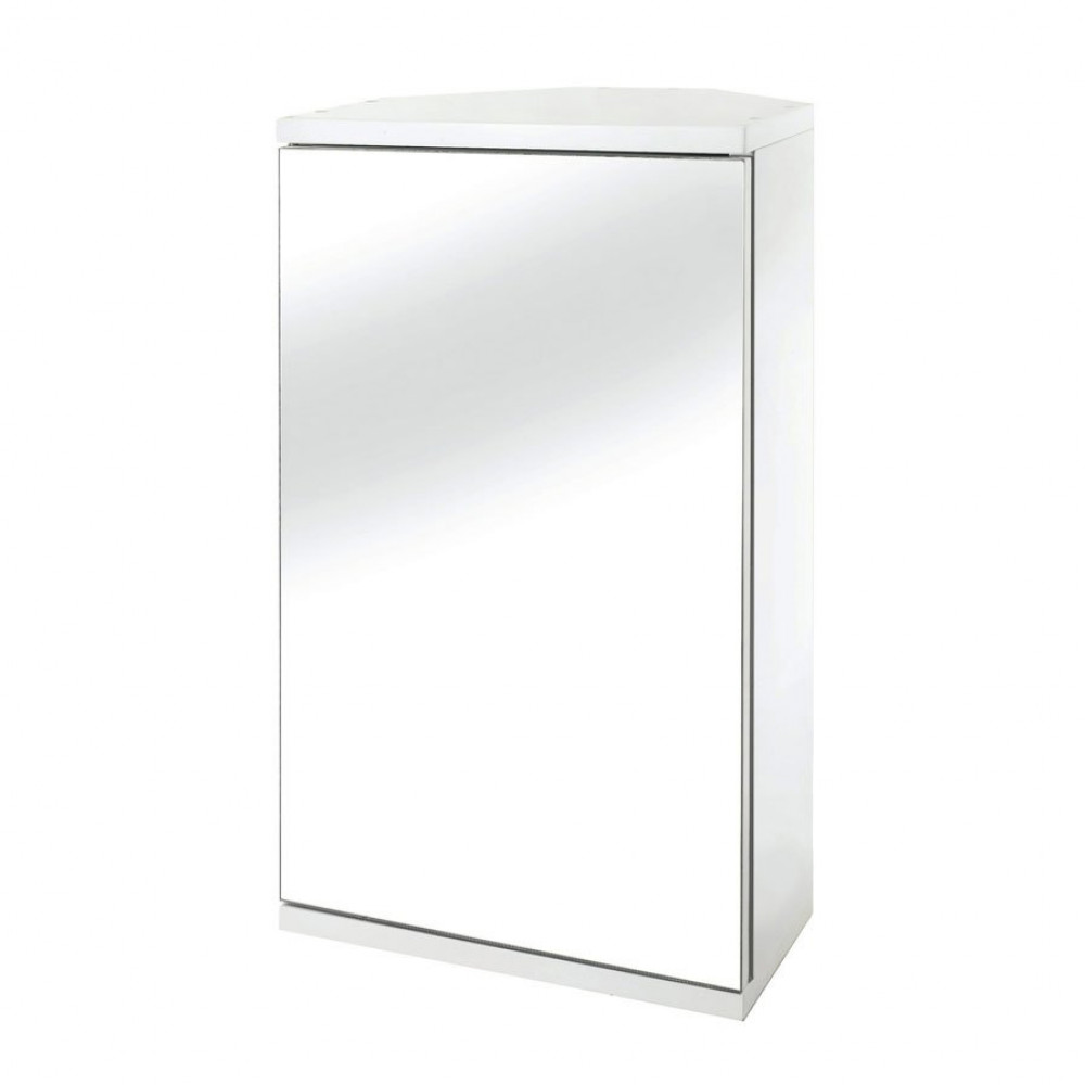 Croydex Simplicity Single Door Bathroom Cabinet Wc257222