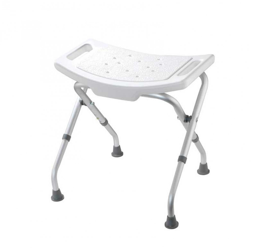 Croydex White Adjustable Bathroom & Shower Seat