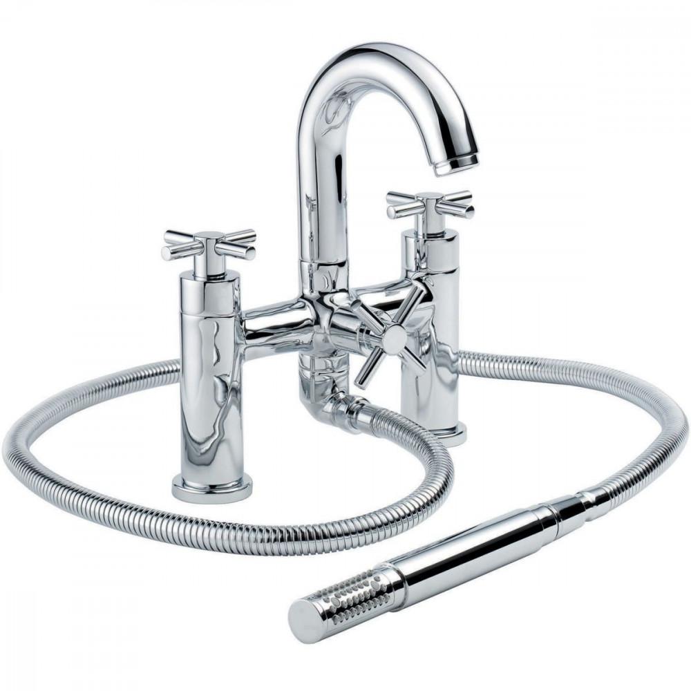 Francis Pegler Xia 2 Hole Bath & Shower Mixer   4K8016