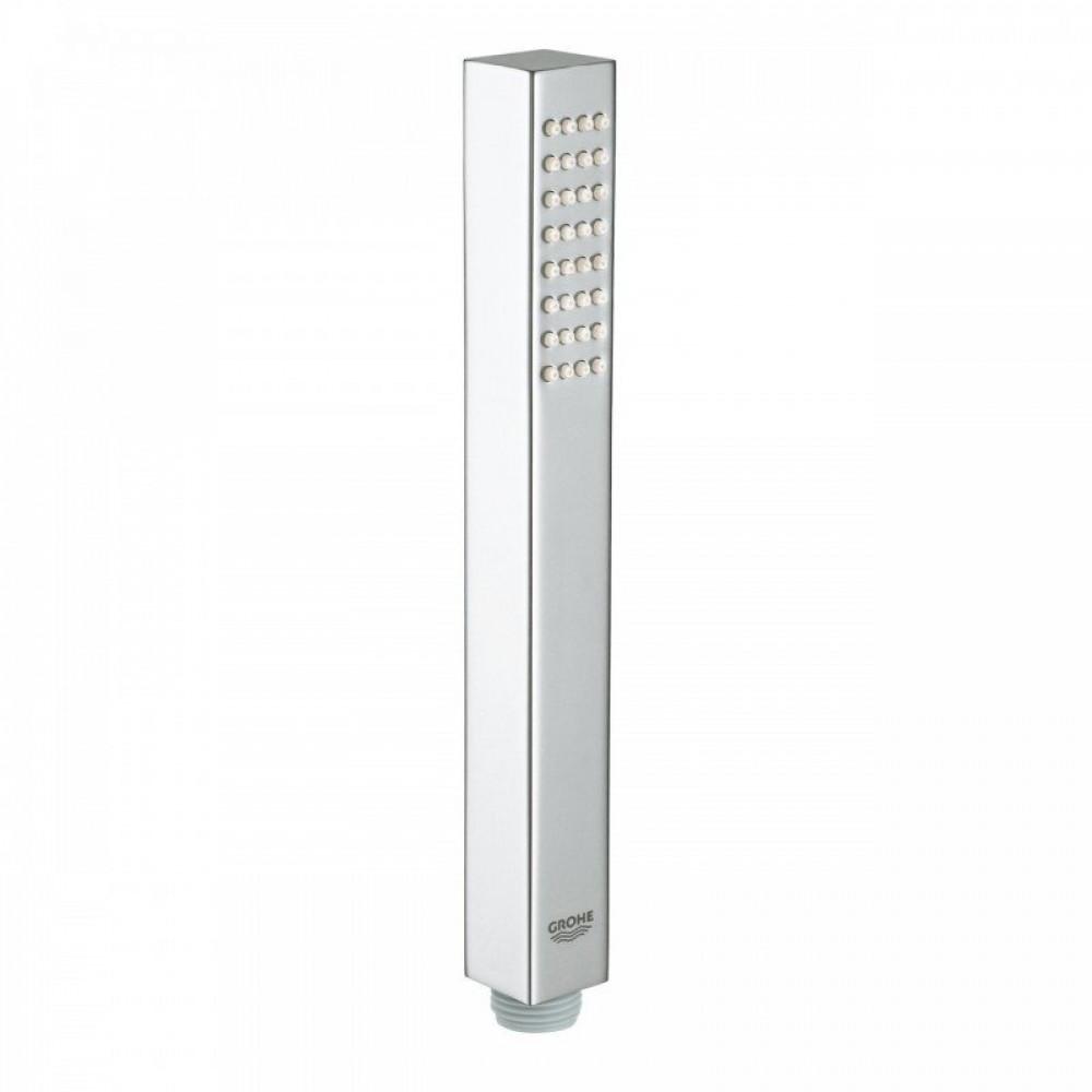 S2Y-GROHE 27884001 Chrome Euphoria Cube + Normal Spray Metal Shower Handset-0