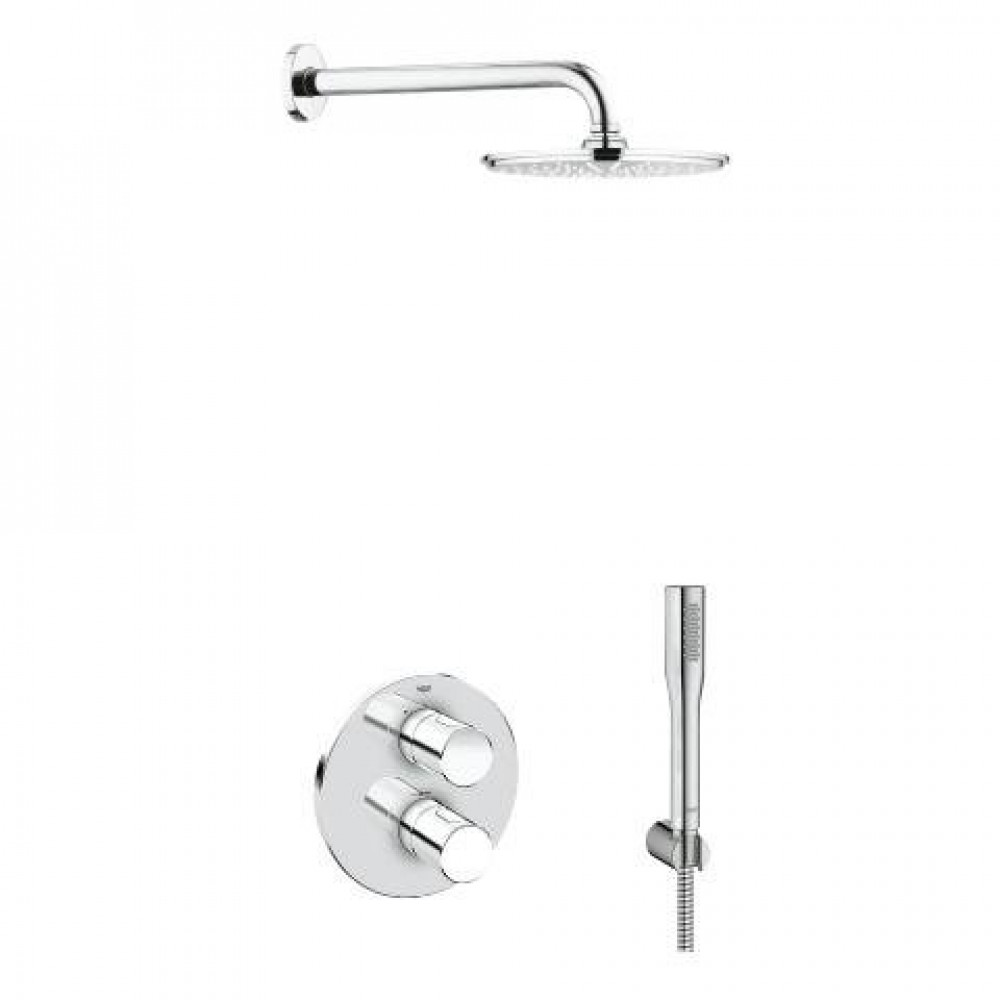Grohe Grohtherm 3000 Cosmo & Rainshower Solution Pack 4