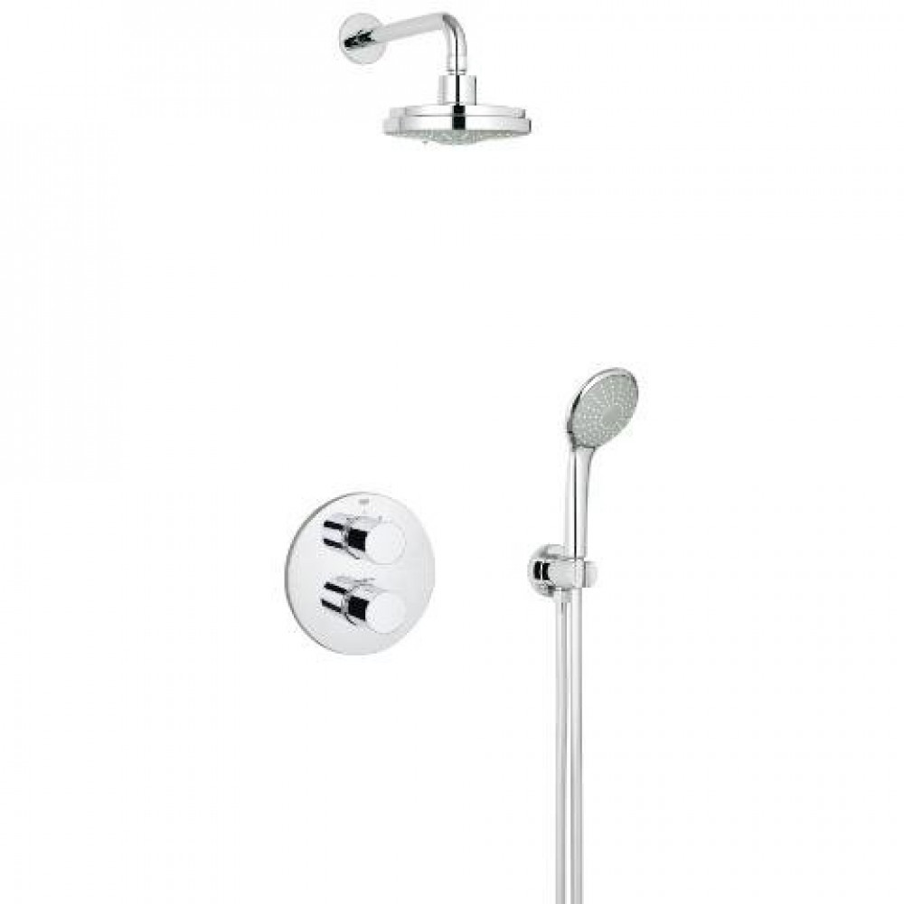 Grohe Grohtherm 3000 Cosmopolitan Complete Shower Set