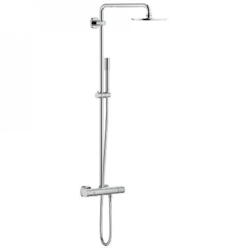 grohe rainshower system 210 shower system 27032001. Black Bedroom Furniture Sets. Home Design Ideas