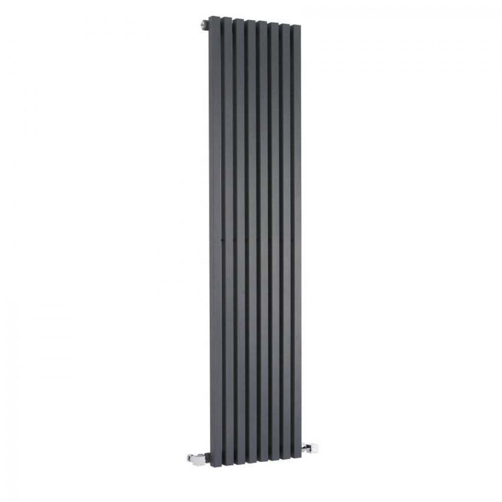 Hudson Reed Kinetic Anthracite Vertical Radiator 1800mm x 360mm HLA96