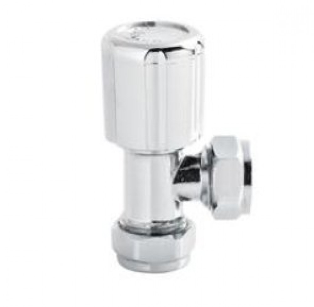 Hudson Reed Angled Radiator Valves Pair