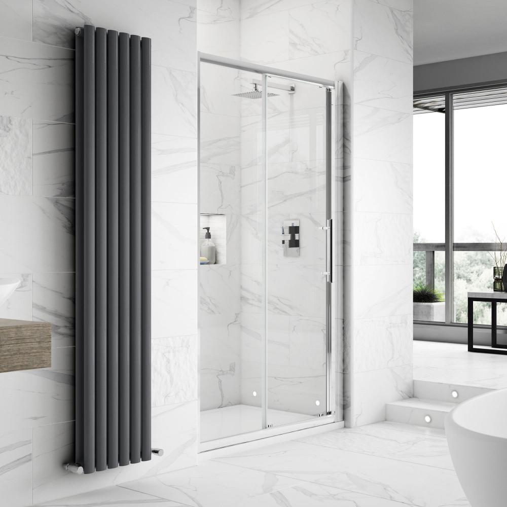 Hudson Reed Apex Sliding Shower Door 1400mm