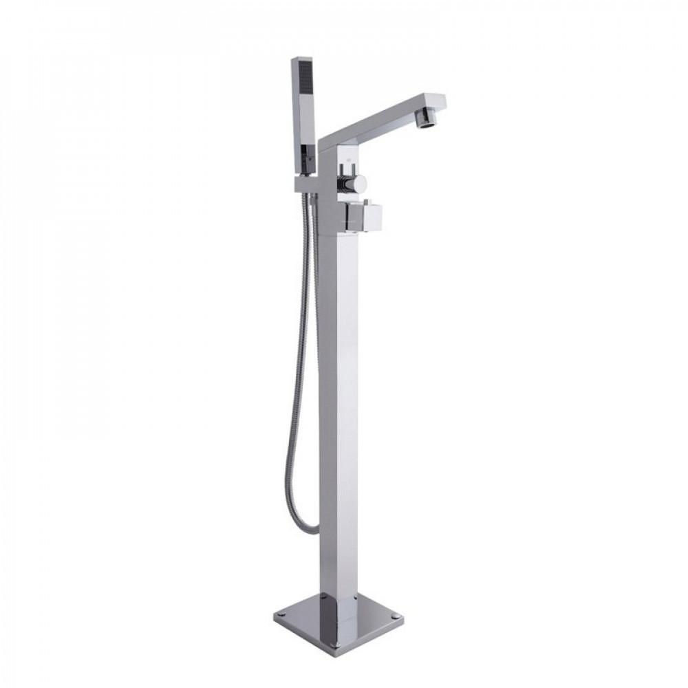 Hudson Reed Kubix Thermostatic Floor Standing Bath Shower Mixer
