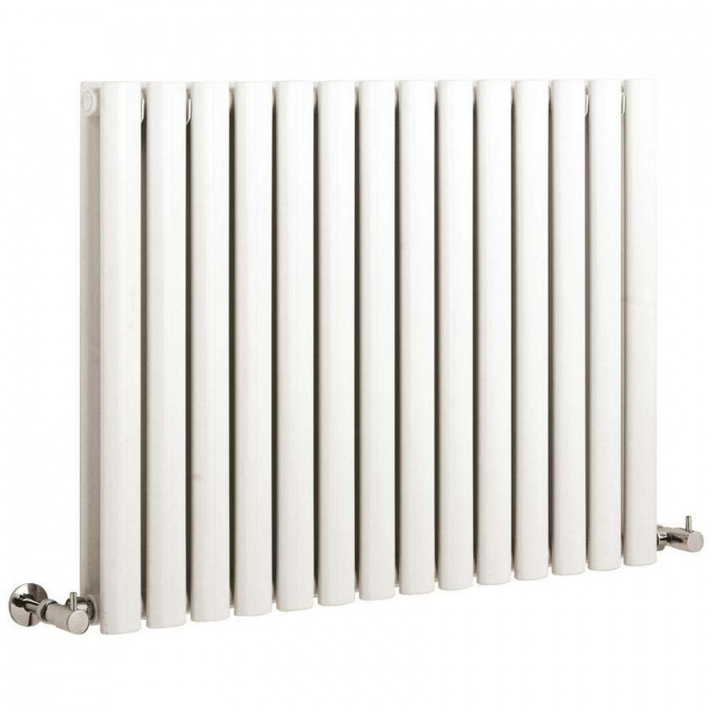 Hudson Reed Revive Double Panel Large Radiator 1180 x 635 White