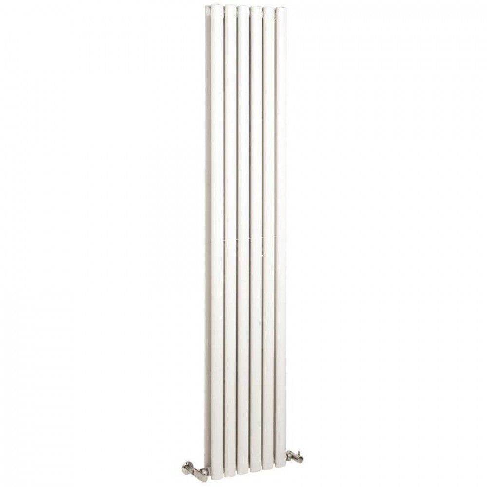 Hudson Reed Revive Double Panel Vertical Radiator 1800 x 355 White