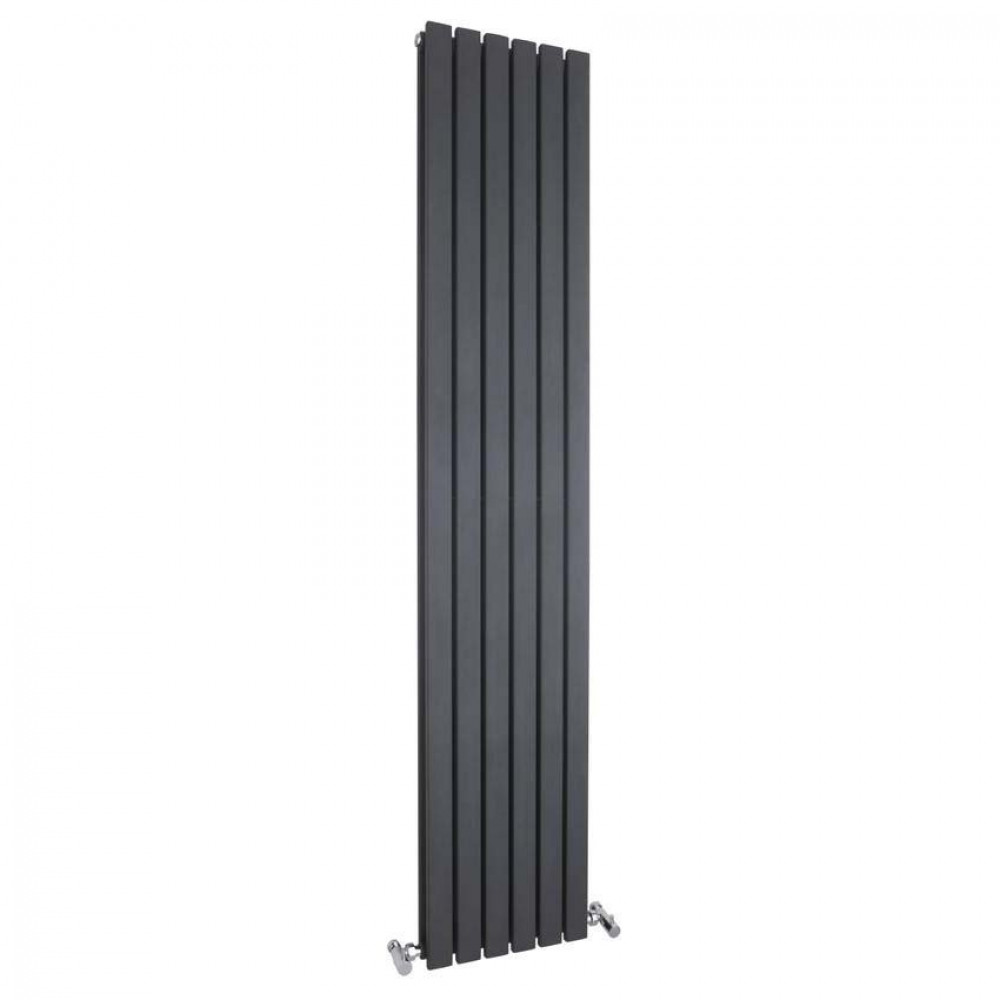 Hudson Reed Sloane Double Radiator Anthracite 1800mm x 354mm