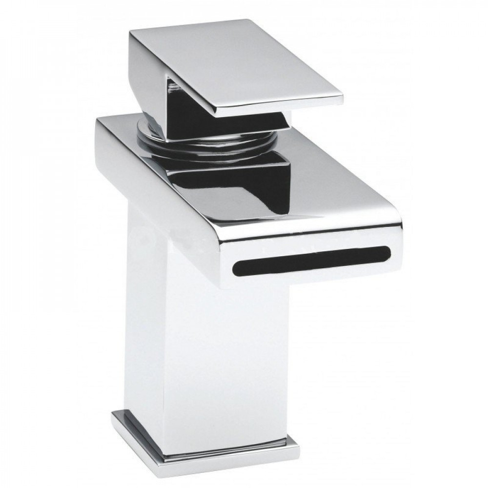 Hudson Reed Strike Mono Basin Mixer with Push Button Waste