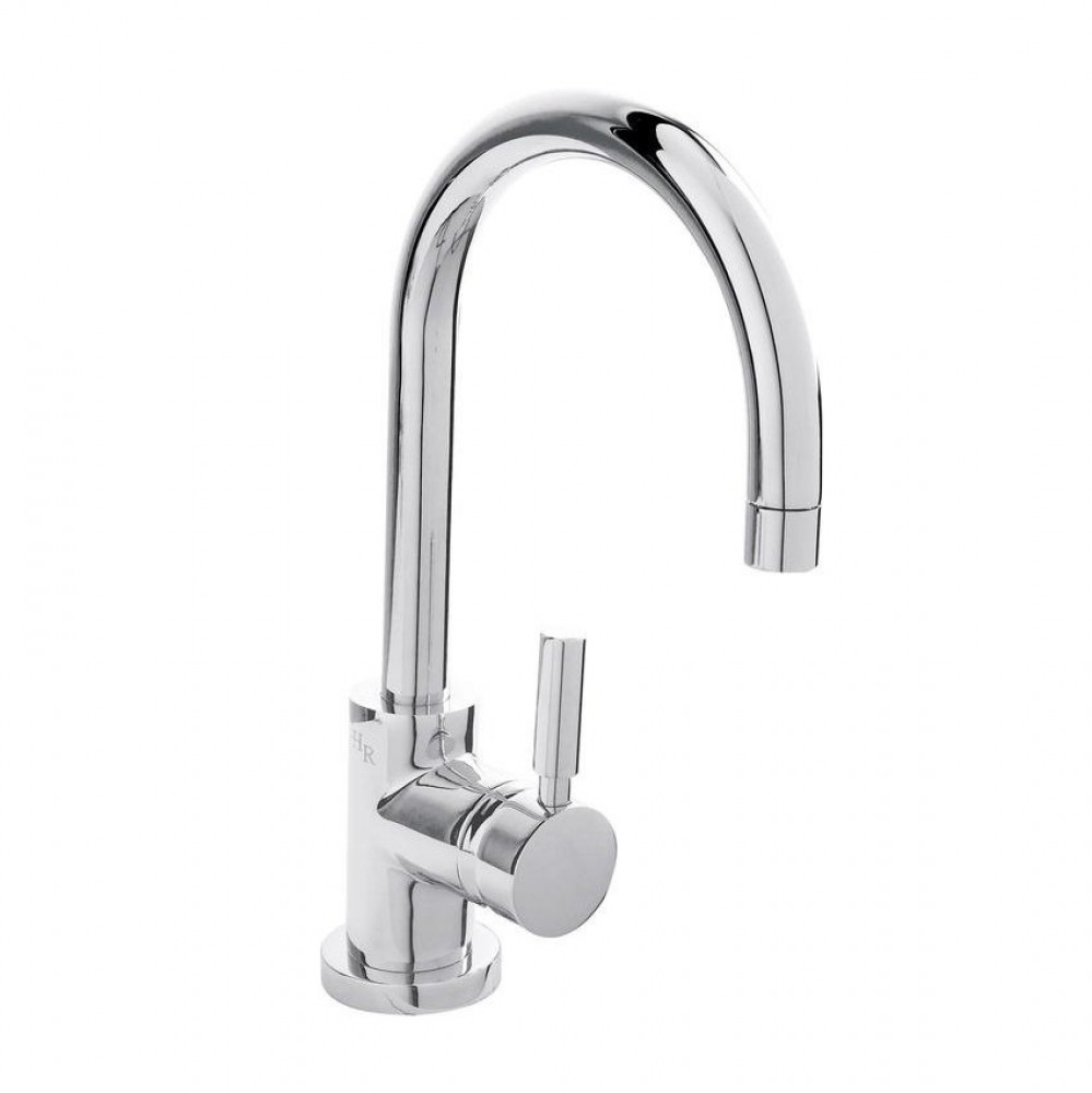 Hudson Reed Tec Single Lever Side Action Basin Mixer & Waste