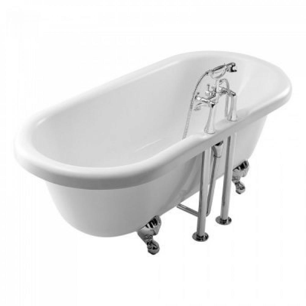 Essential Lambeth Double Ended Bath 1685 x 745mm