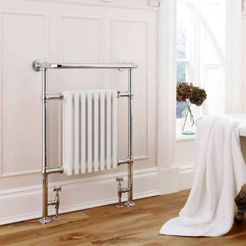 Kartell Crown Chrome Plated Heated Towel Rail 675 x 945mm | LAS