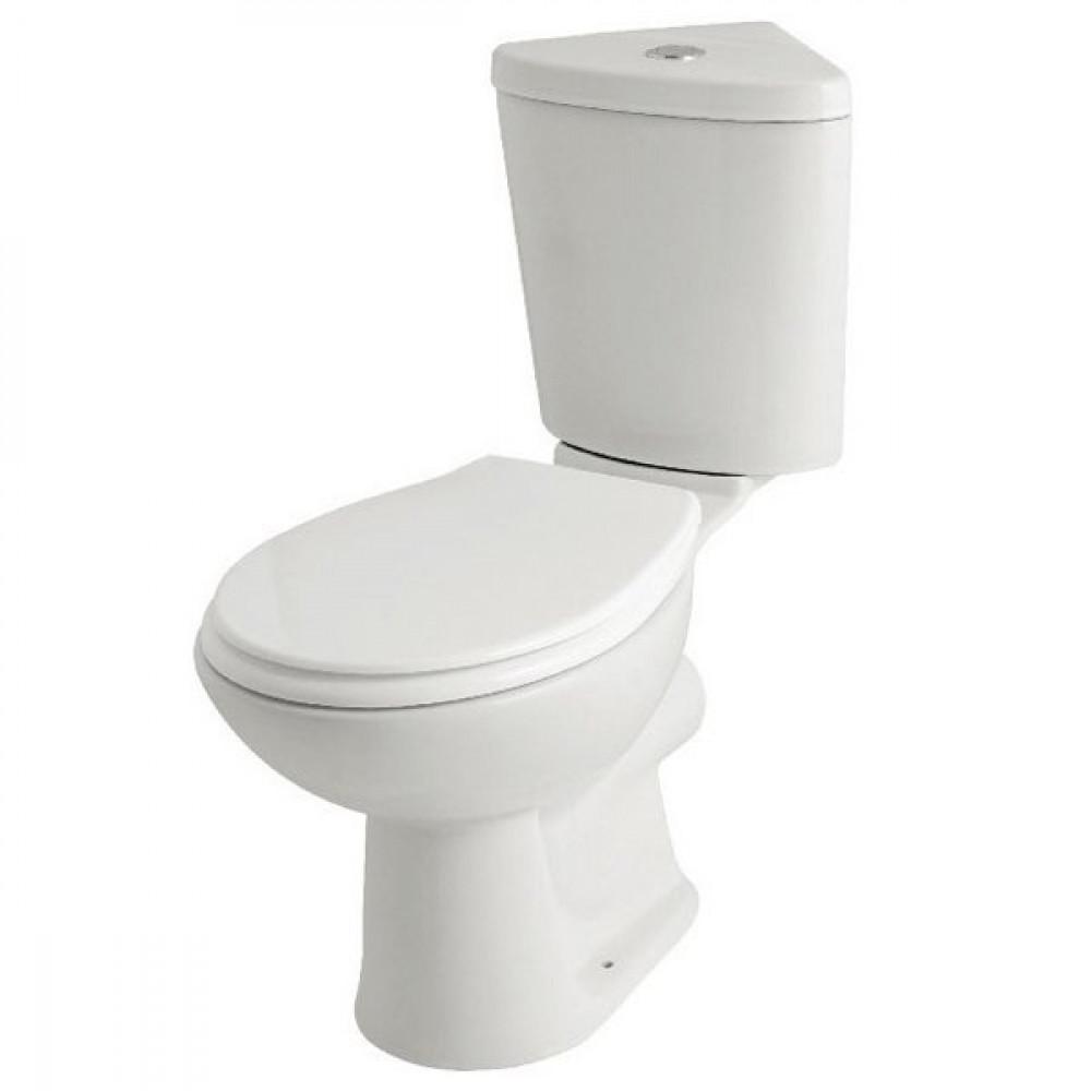 Kartell G4k Corner WC, Cistern and Supreme Soft Close Seat