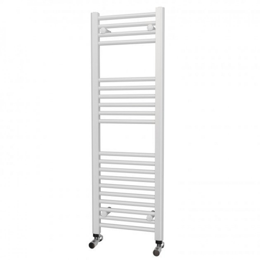 Kartell K-Rail 300 x 1200mm White 22mm Straight Towel Rail