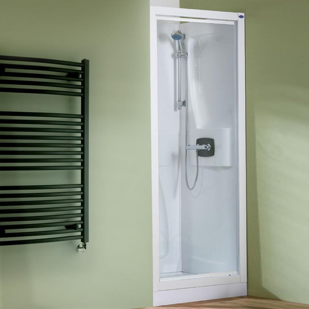 Kinedo Kineprime 1000 x 800mm Recess Pivot Thermo Shower Pod CA5800TTN