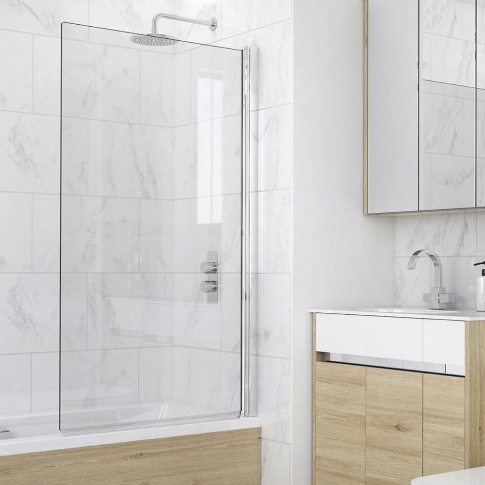 Kudos Single Panel 6mm Bath Screen
