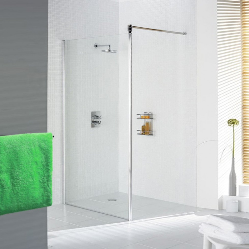 Lakes 800mm Walk in 8mm Shower Screen