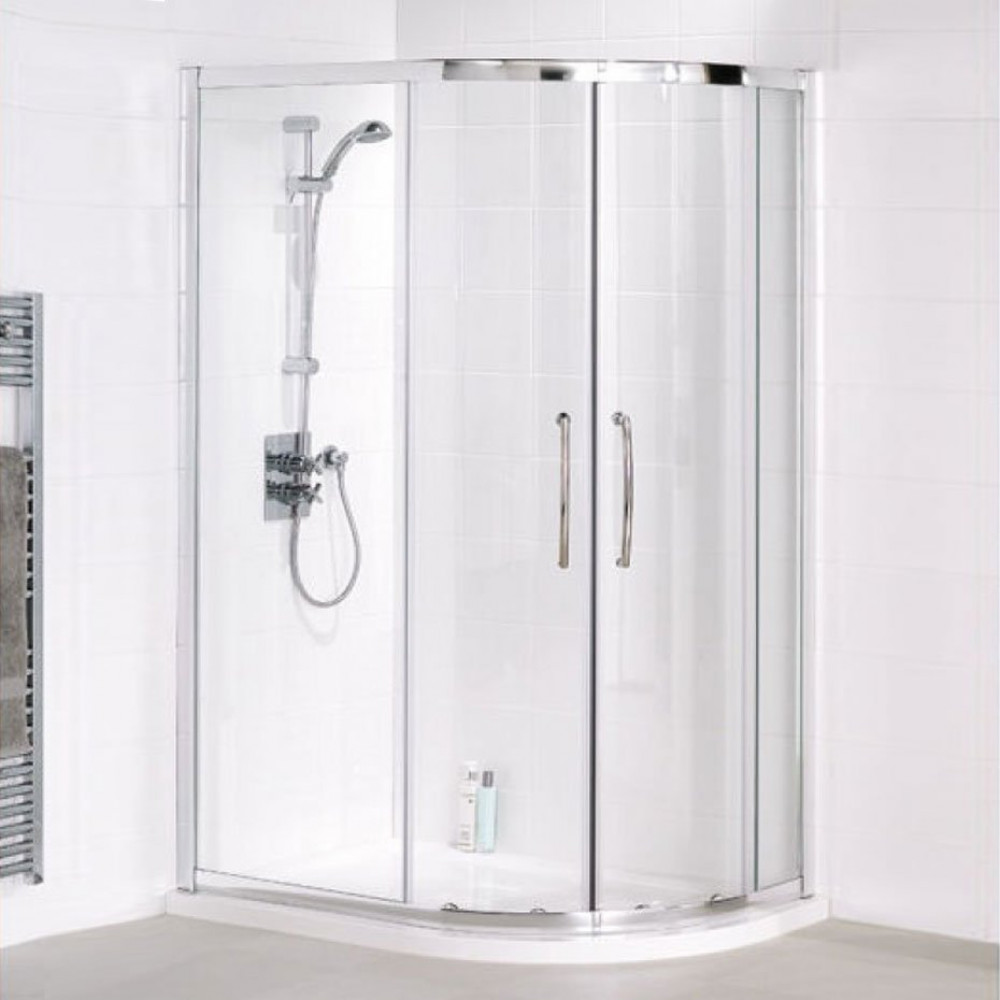 Lakes Bathrooms 1200mm x 900mm Offset Quadrant Shower Enclosure