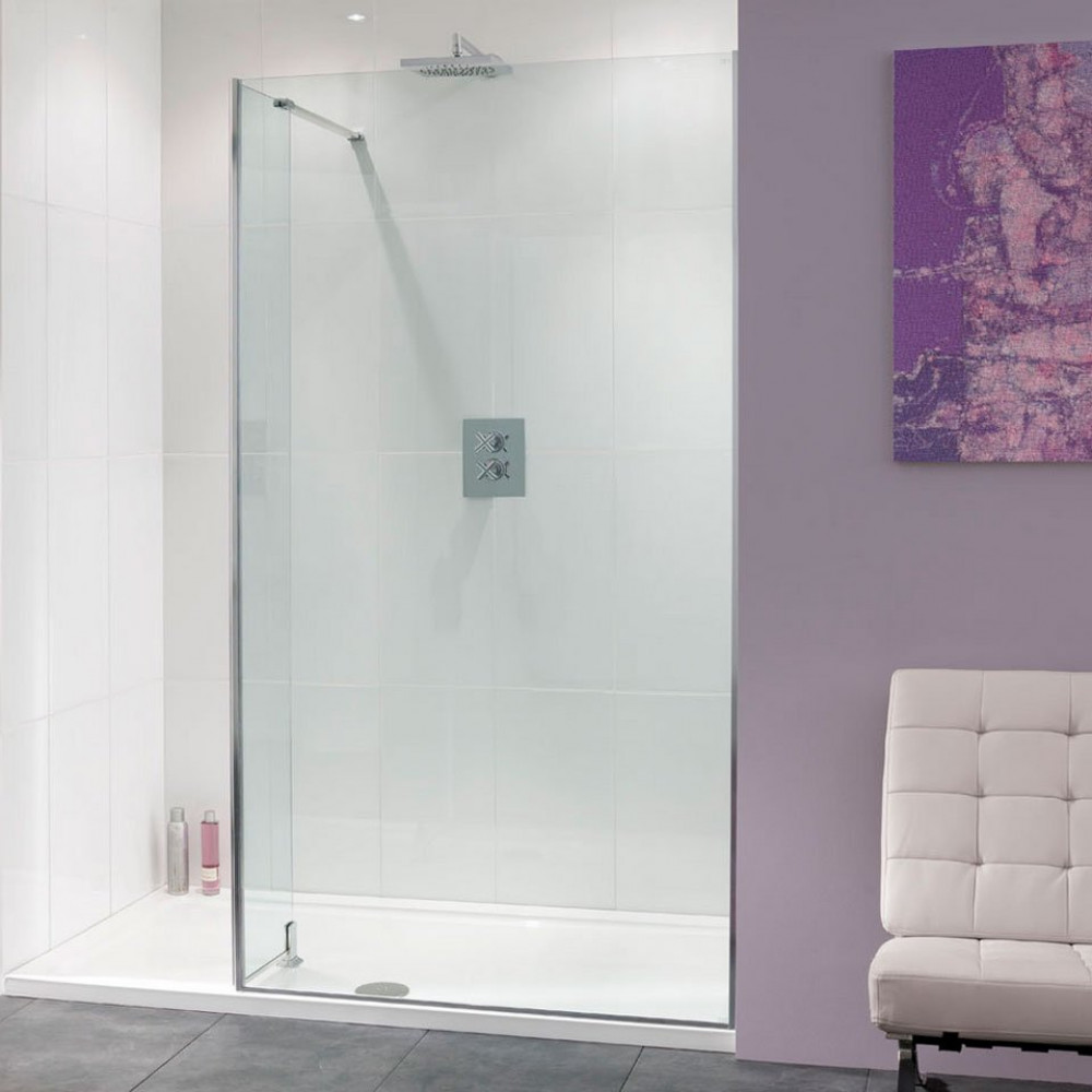 Lakes Nice 1400mm Walk In 8mm Shower Panel