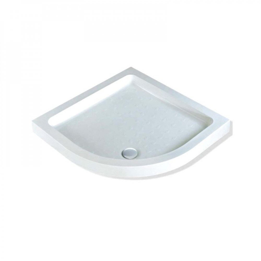 MX Classic Stone Resin Quadrant Shower Tray, 800 x 800mm