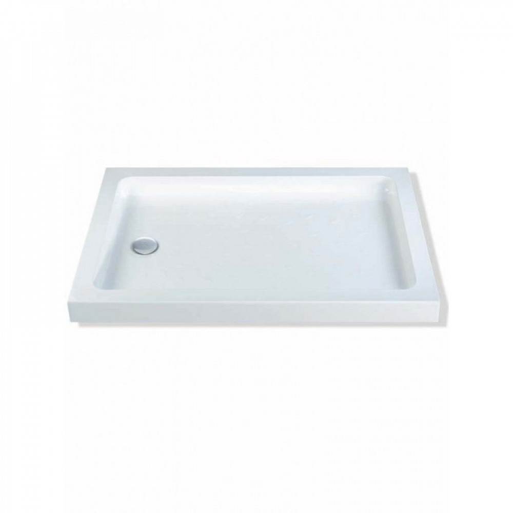 MX Classic Stone Resin Rectangular Shower Tray 900 x 700mm