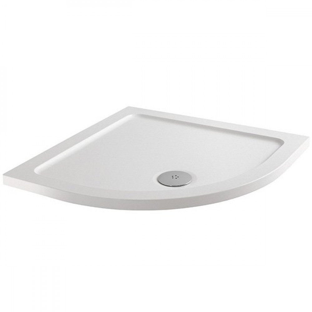 MX Elements 900 x 900mm Anti Slip Quadrant Shower Tray with 90mm Waste