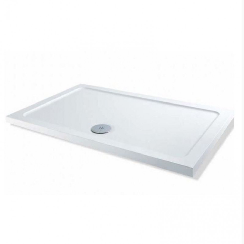 MX Elements Stone Resin Low Profile 1800 x 760mm Rectangular Tray