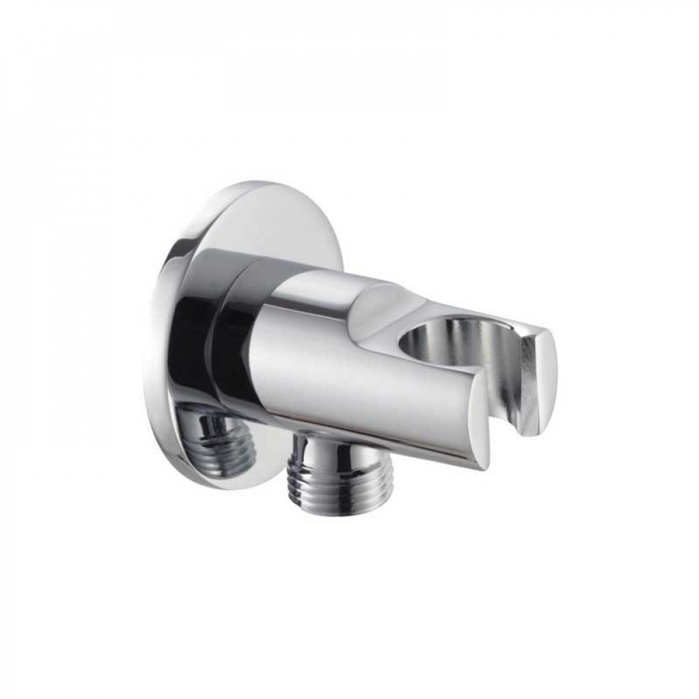Marflow Circular Shower Wall Elbow with Front Hand Shower Holder