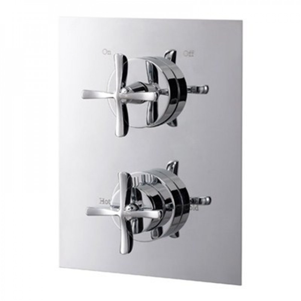 Marflow Joust Cross thermostatic Shower Valve Concealed