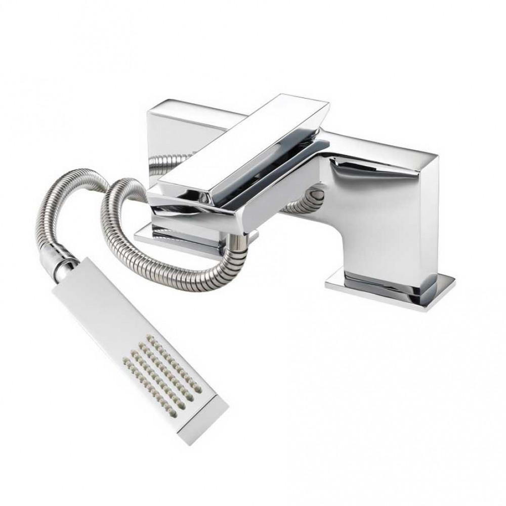 Marflow Oblique Bath/Shower Mixer With Shower Kit & Swivel Bracket OBL300K1