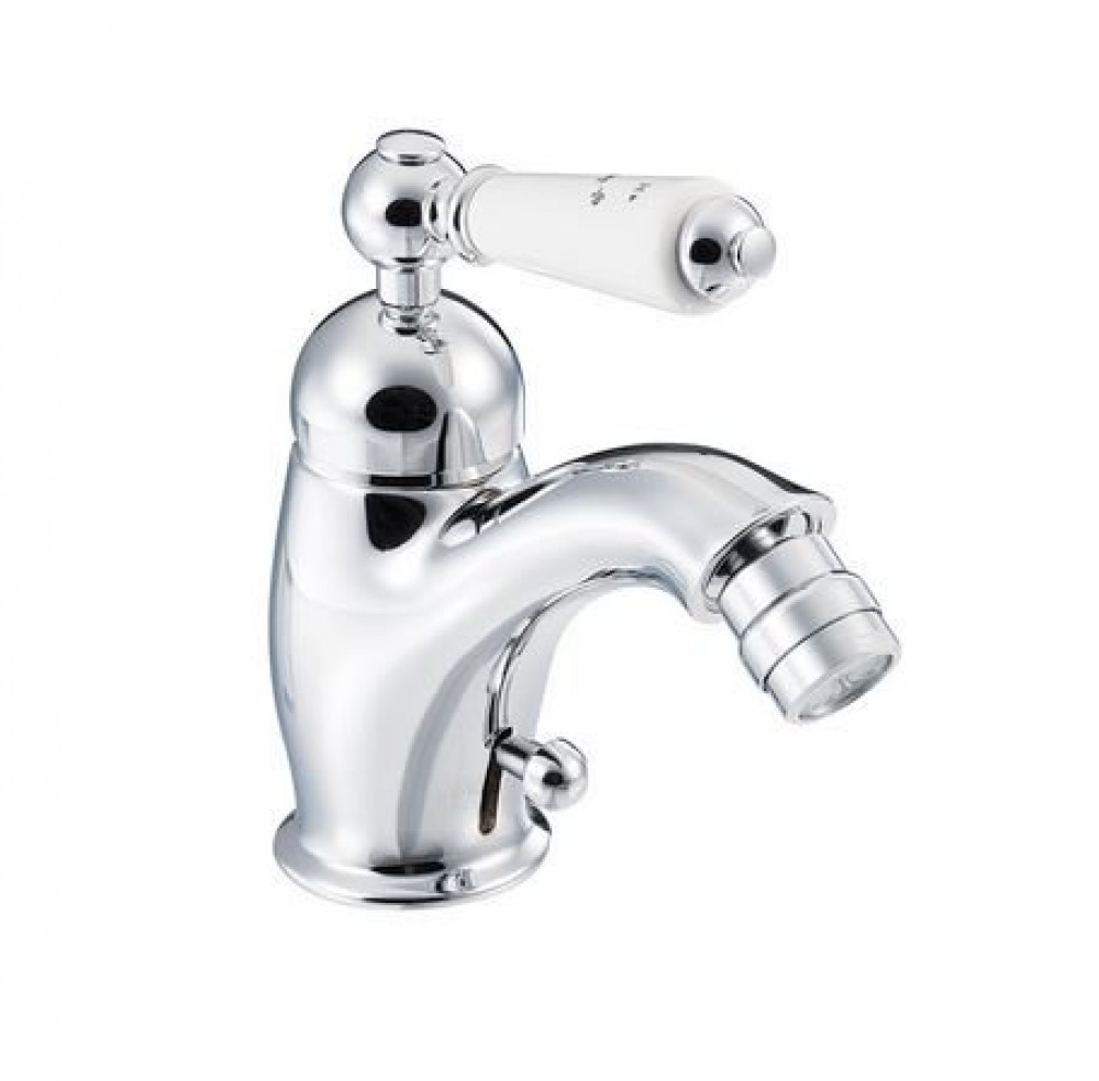 Marflow St James London Single Lever Bidet Mixer with Pop-up Waste