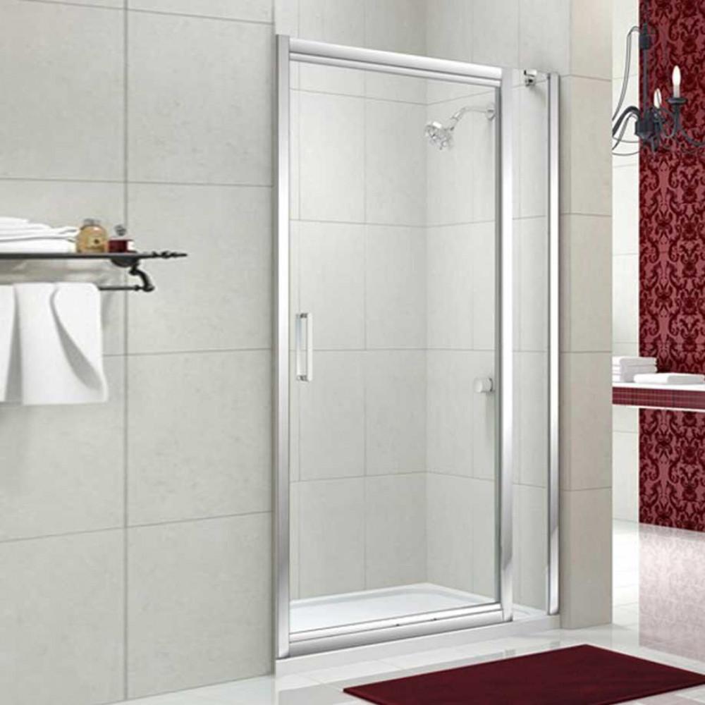 Merlyn 8 Series 1100 Infold Shower Door & Inline Panel