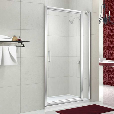 Merlyn 8 Series 940 to 1000mm Infold Door and Inline Panel