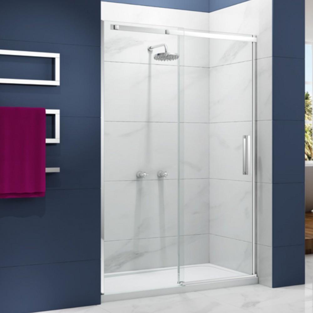 Merlyn Ionic Essence Frameless 1000mm Sliding Shower Door