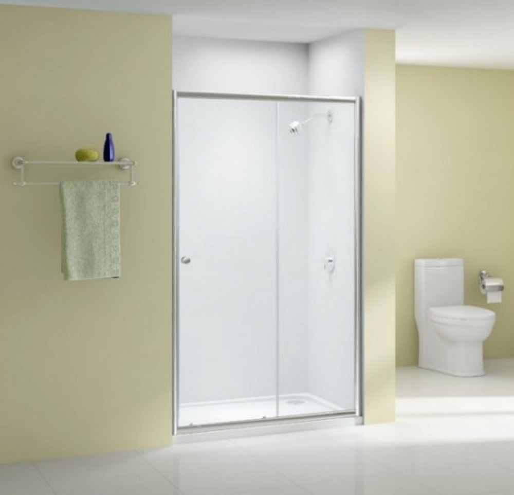 The Merlyn Ionic Source 1100mm Sliding Shower Door A1204b0