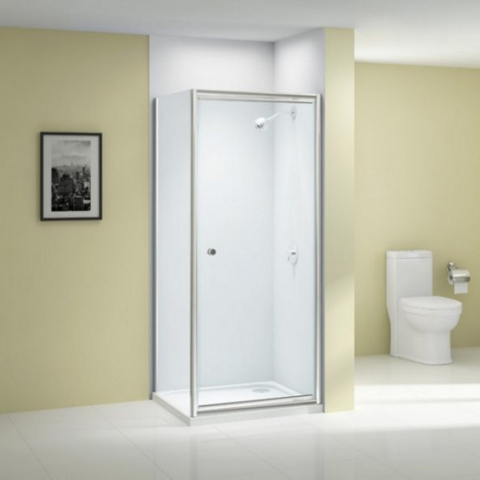 Merlyn Ionic Source 800mm pivot shower door