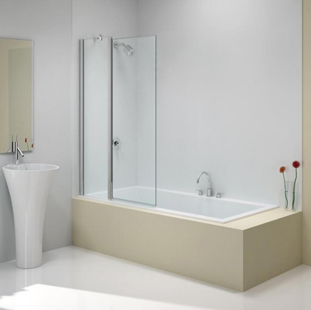 Merlyn Ionic Two Panel Folding Square Bath Screen 900 X 1500mm